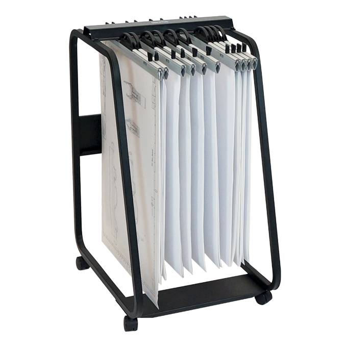 Hang-A-Plan D061 A1 Plan Trolley (20 Clamp Capacity)