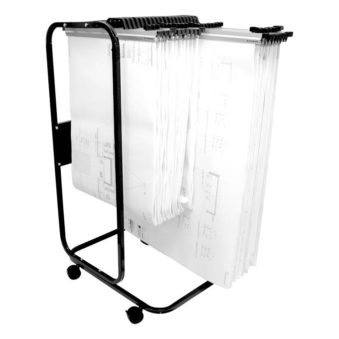 Planmate A0 MAXI Trolley (24 Clamp Capacity)