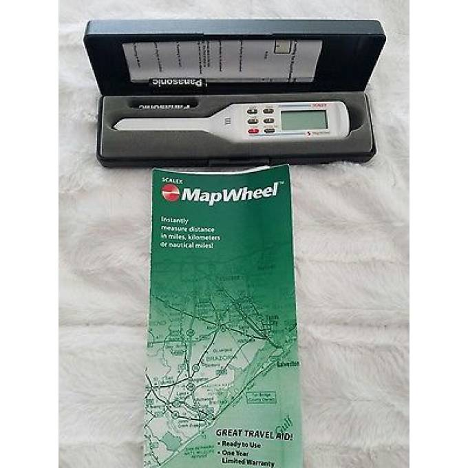 Scalex Mapwheel measurer for maps